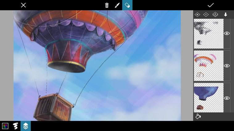PicsArt Windows 8.1 dibujo