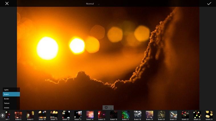 PicsArt Windows 8.1 filtros
