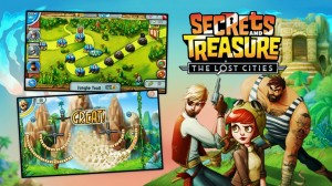 Secret and treasure the lost cities