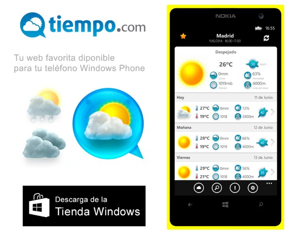 Windows Phone , El tiempo