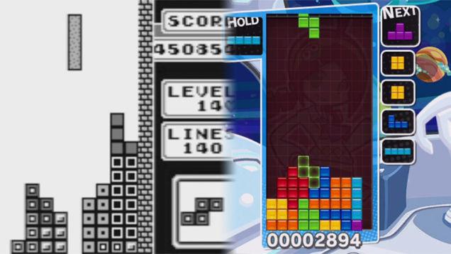 La evolución de tetris