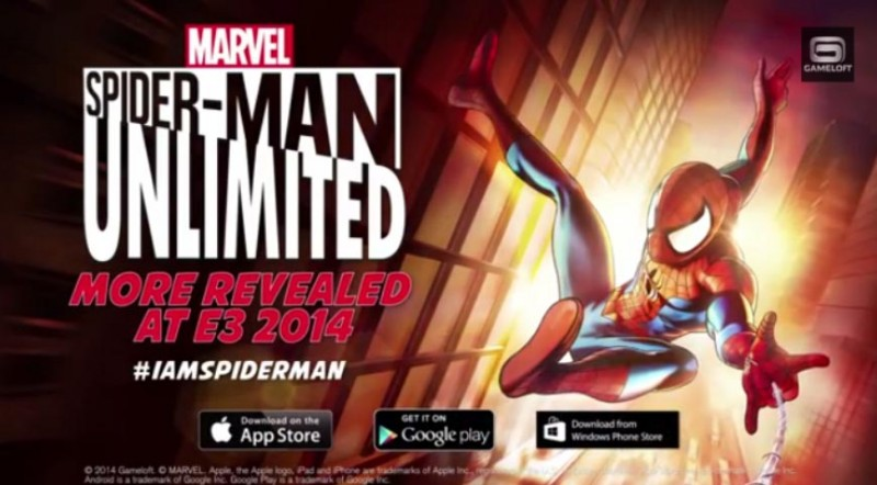 spiderman endless runner