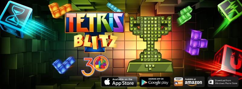 Tetris Blitz aniversario 30 años
