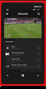 Zattoo Live TV se estrena como app Universal