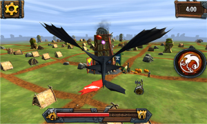 Dragons Adventure vuelo