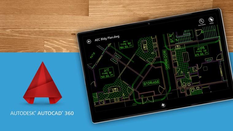 AUTOCAD360 para Windows 8