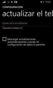 Preparando actualización para Windows Phone 8.1 Developer Preview
