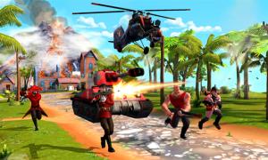 Blitz Brigade - ataque
