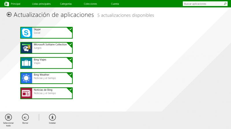 Skype para Windows 8 y Bing Apps se actualizan