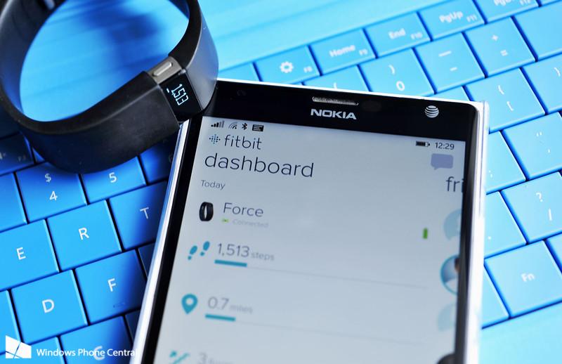 App  Fitbit Windows Phone
