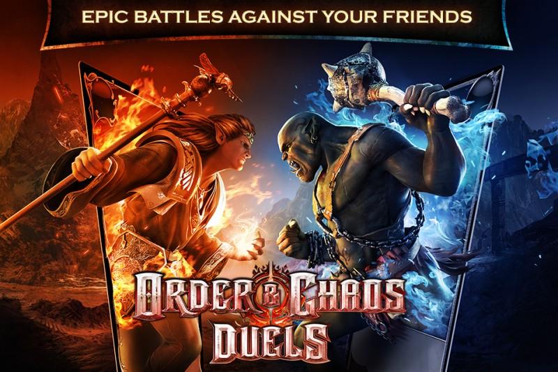 Gameloft no descansa y nos presenta Order & Chaos Duels