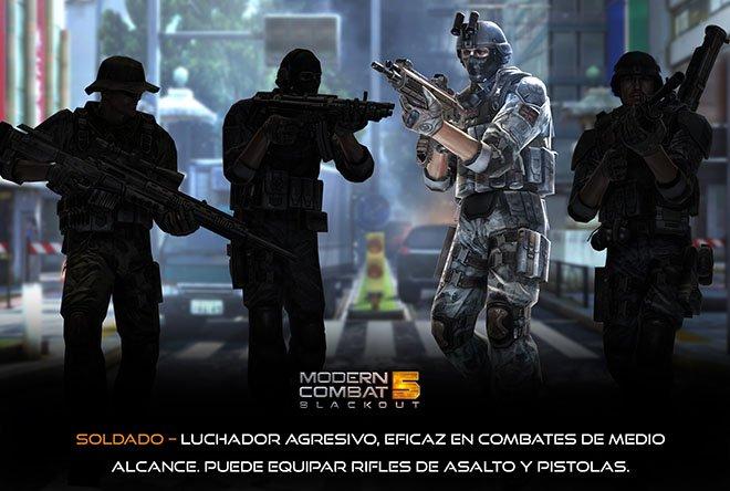 Soldado - Modern Combat 5: Blackout