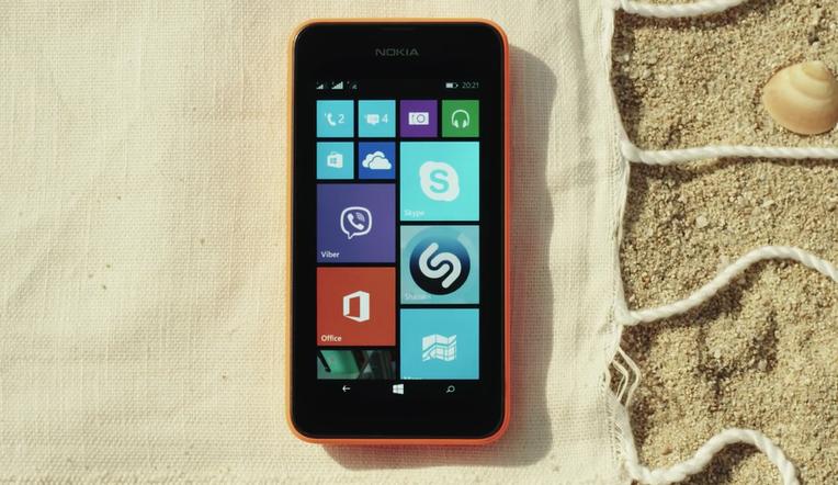 Nuevo anuncio del Lumia 530