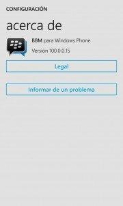 BBM Beta para Windows Phone