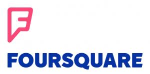 Nuevo logo de Foursquare