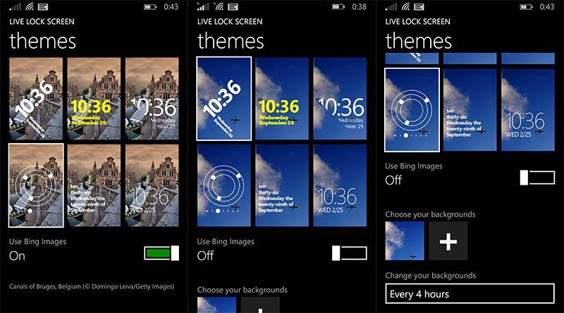live lock Screen Beta Windows Phone 8.1