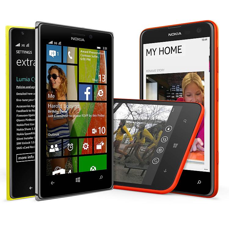 Lumia Cyan para Nokia Lumia