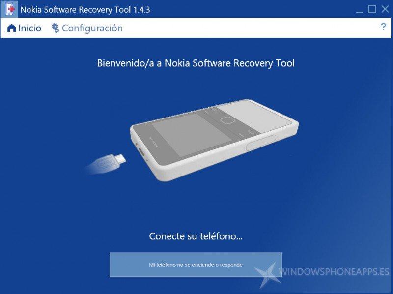 Repara tu Lumia con Nokia Recovery Tool