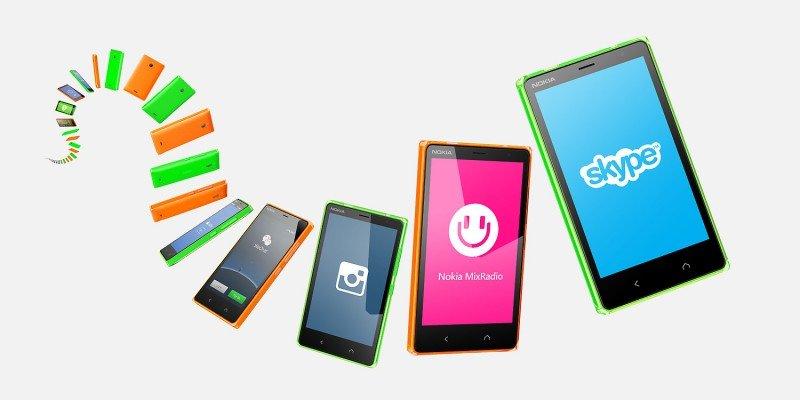 Modelos Nokia X