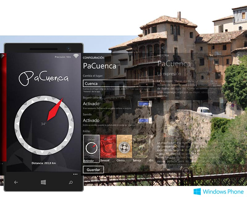 PaCuenca, para Windows Phone 8.1