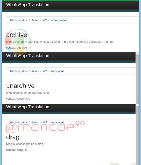 Whatsapp nuevas funciones para Windows Phone