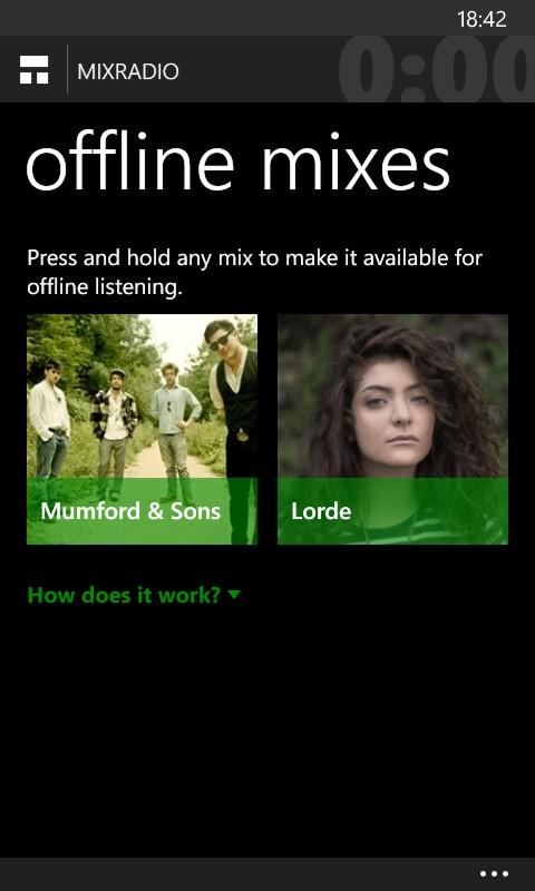 Mixes Offline