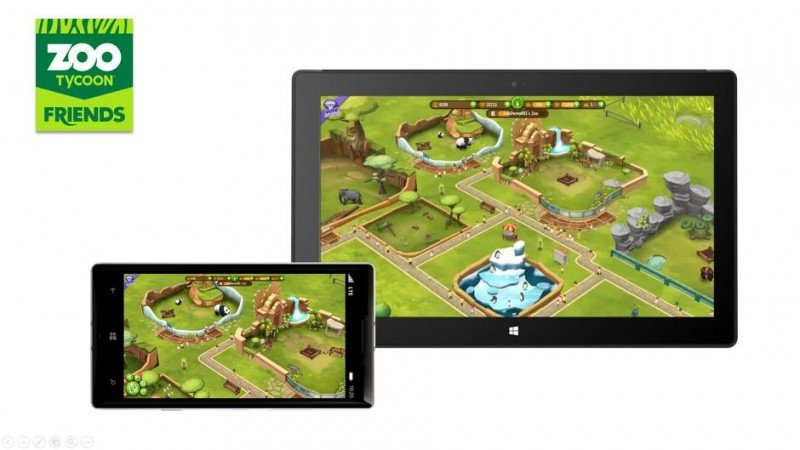 Zoo tycon friends para Windows Phone y windows 8