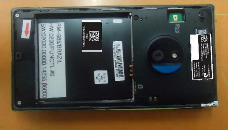Lumia 830 bateria