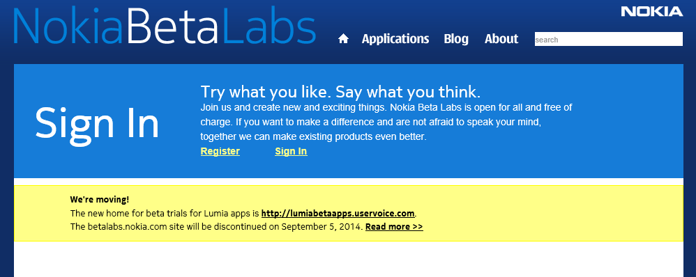 Nokia Beta Labs desaparece