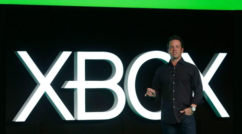 Phil Spencer en la conferencia de Microsoft