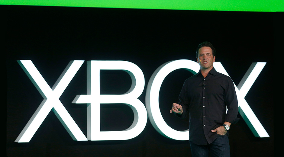 Phil Spencer en la conferencia de Microsoft