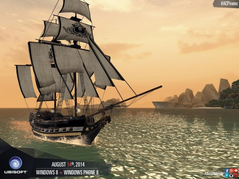 Anuncio de Assassin's Creed: Pirates