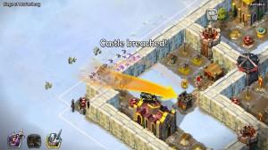 Batalla histórica en el sitio de Marienburgo
