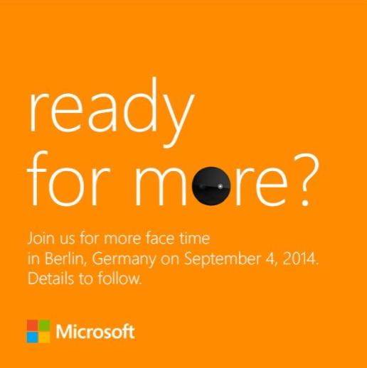 Evento de Microsoft el día 4