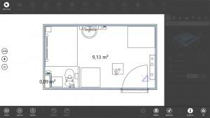 Muestra de Bathroom_01 en 2D con Live Interior 3D Pro