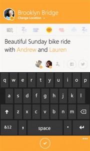Compartiendo en Swarm para Windows Phone