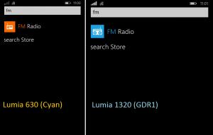 Radio FM en WP8.1 y WP8.1 Update 1