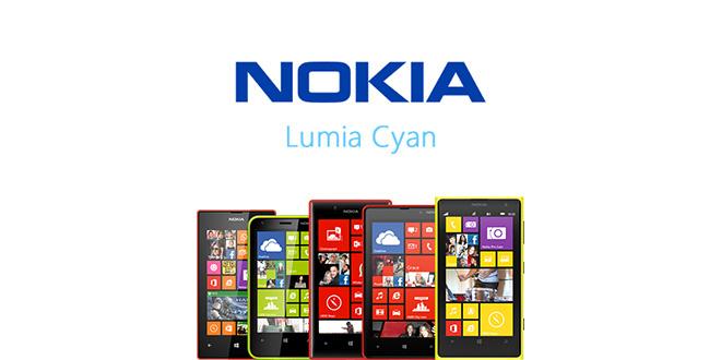 Lumia Cyan para los Nokia Lumia 525, 620, 720, 820 y 1020