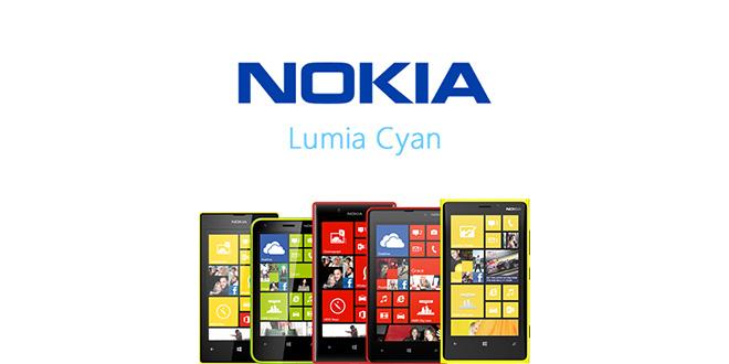 Lumia Cyan para los Nokia Lumia 520, 620, 720, 820 y 920