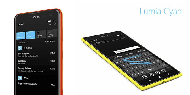 Los Nokia Lumia 520, 625, 720, 820, 920, 925, 1020, 1320 y 1520 reciben Lumia Cyan
