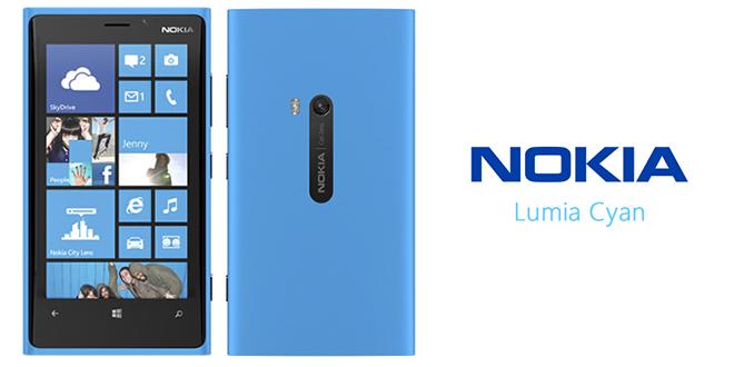 Lumia Cyan para Nokia Lumia 920