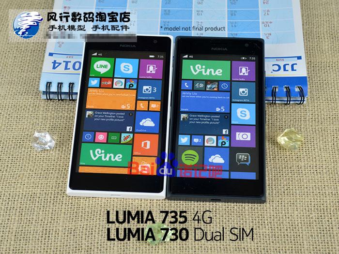 Nokia Lumia 730 y Nokia Lumia 735