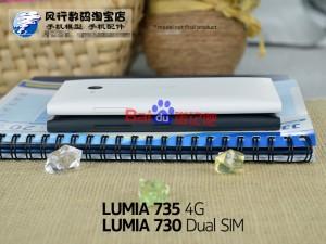 Nokia Lumia 730 y 735 de perfil