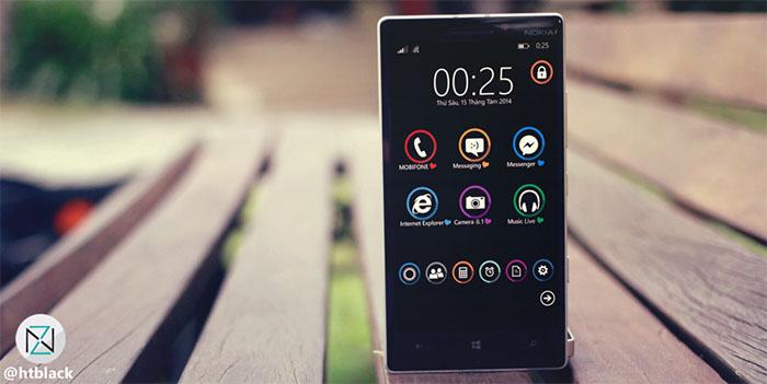 Nuevo Look Windows Phone