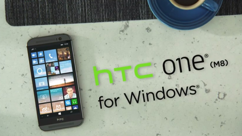 HTC One M8 for Windows
