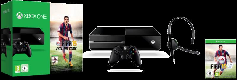Pack de Xbox One con FIFA 15