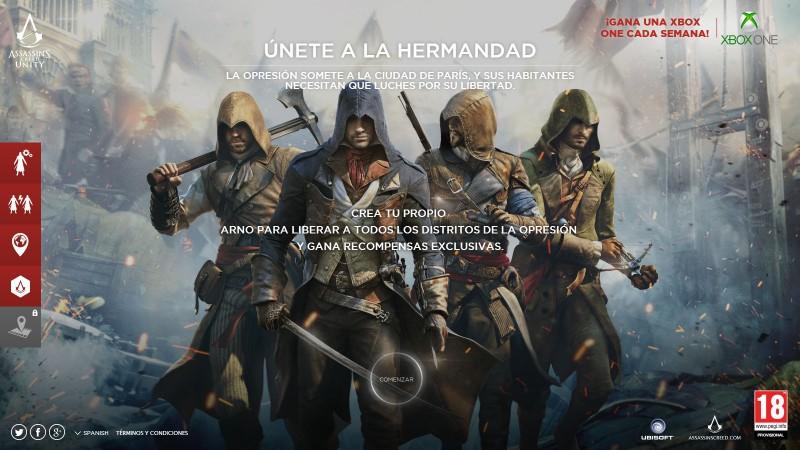 Gana una Xbox One con Assassin's Creed Unity