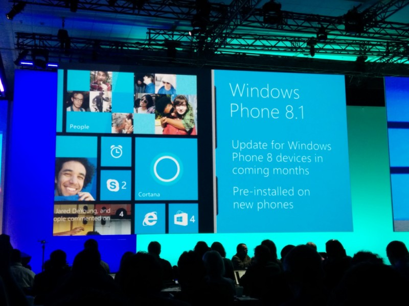Presentación de Windows Phone 8.1