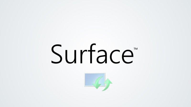 Actualización de los firmware de algunas Surface