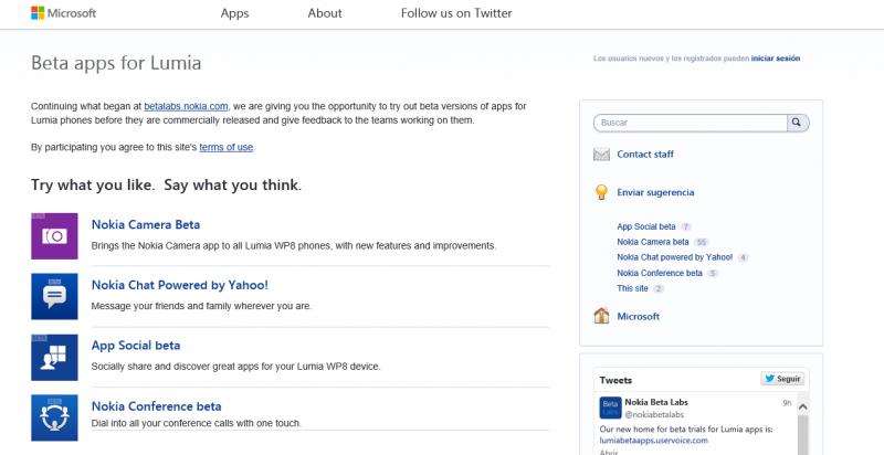 Nokia beta Labs se traslada de UserVoice